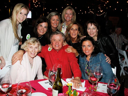 Philanthropist Al & Cathy Annexstad and friends.