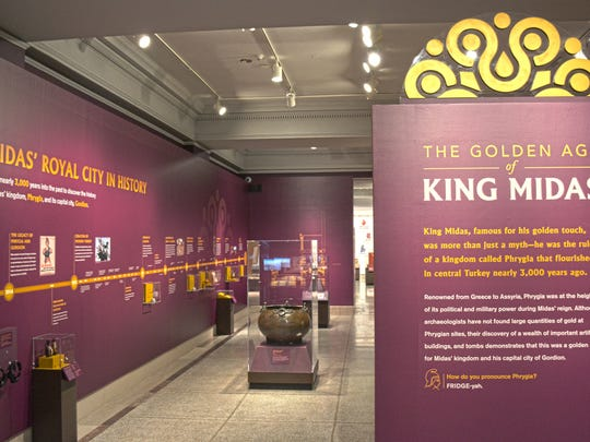 'The Golden Age of King Midas' is now open at the Penn Museum. This world-exclusive exhibition, developed by the Penn Museum in partnership with the Republic of Turkey, features more than 120 dazzling ancient objects on special loan from Turkish museums in Ankara, Istanbul, Antalya, and Gordion, as well as materials from other museums, and from the Penn Museum's own collections.