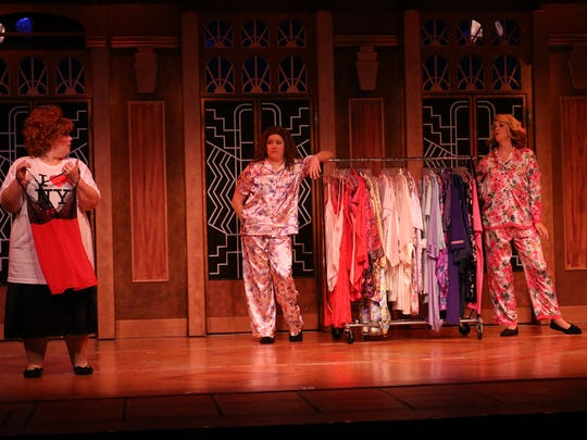 """A scene from Broadway Palm's """"Menopause: The Musical"""""""