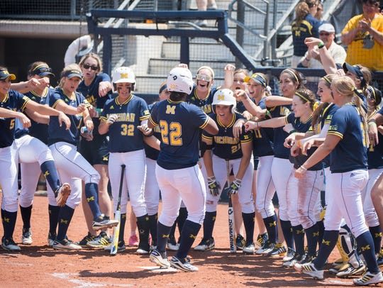 Michigan defeated Notre Dame, 6-2, on Sunday, May 22,