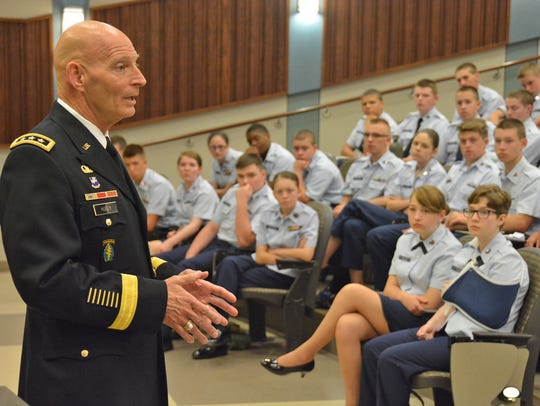 Retired U.S. Army Lt. Gen. Keith Huber now has a renewed passion for serving the university's student veterans. Huber suffered a heart attack in September while at an event hosted by country music legend Charlie Daniels.