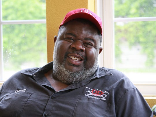 Odell Miller, owner of Fox's Pizza and OD Automotive.