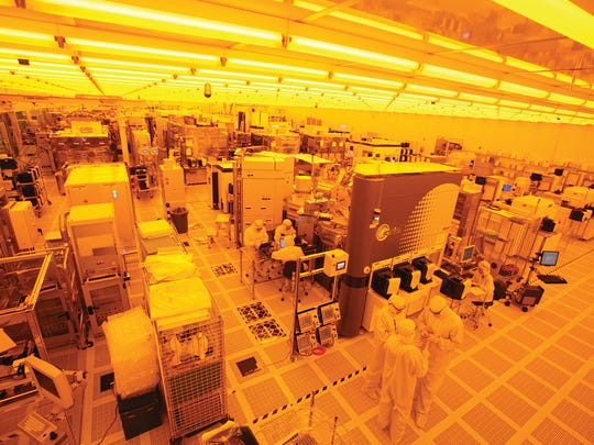 Clean rooms like these will help AIM Photonics testing