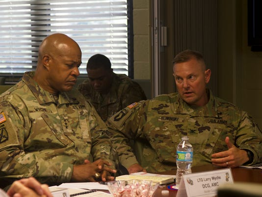AMC DCG visits Fort Campbell