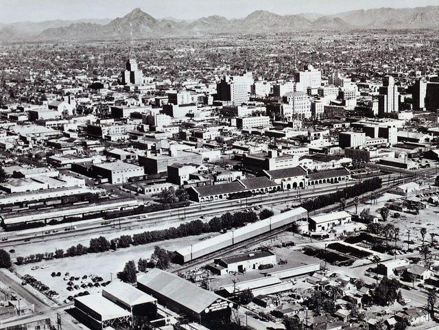 Arizona Then and Now: Downtown Phoenix