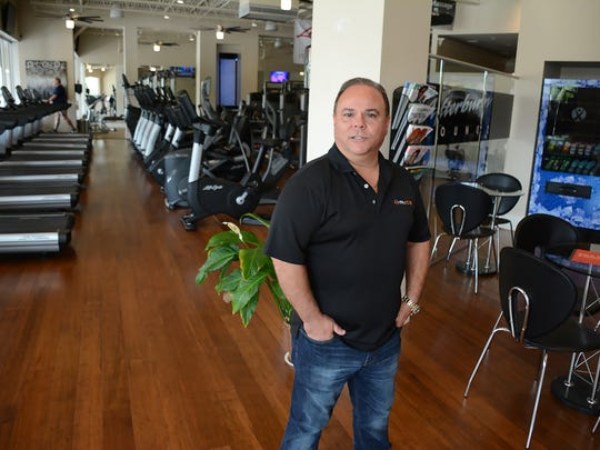 Xcel Fitness Spa owner Eddy Hoyo figures he has invested $1.5 million. The gym in the Shops of Marco offers complete workout options and now Sunday hours.