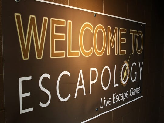 Escapology, located right next to Airway Fun Center in Portage.