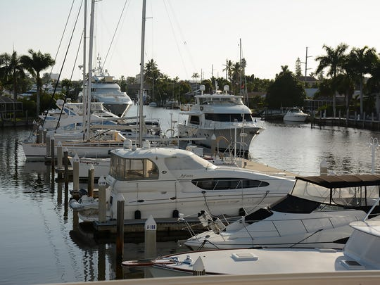 Outside, millions of dollars worth of yachts sat idle. The Marco Island Yacht Club held a Labor Day BBQ Saturday at the club, and invited members of other boating-related groups to join them.