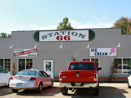 Station 66, just off M-66 near Graham Lake, had been a gas station run by Curt Tramel's great-great-grandparents until Tramel renovated it and then reopened it in 2010.