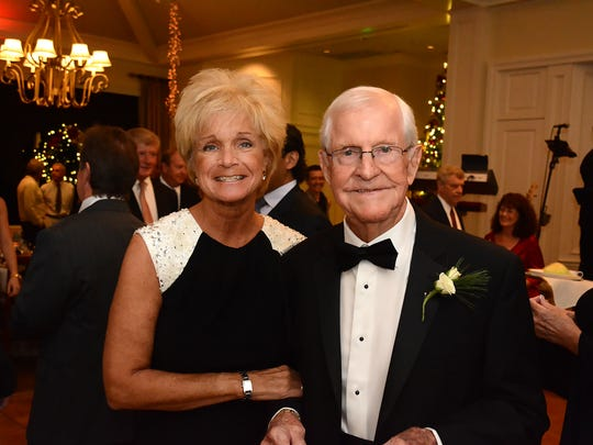 In this file photo, incoming president Dick Shanahan with wife Debra. The Marco Island Area Association of Realtors held their gala and Installation of Officers Thursday at Hideaway Beach Club.