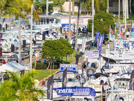 The 44th annual Fort Myers Boat Show returns to the Harborside Event Center and the City Yacht Basin on Nov. 17-20.
