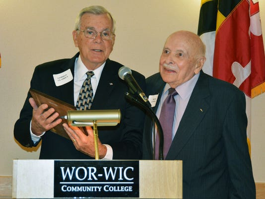 Wor Wic Founder Cook Honored With Salisbury Award