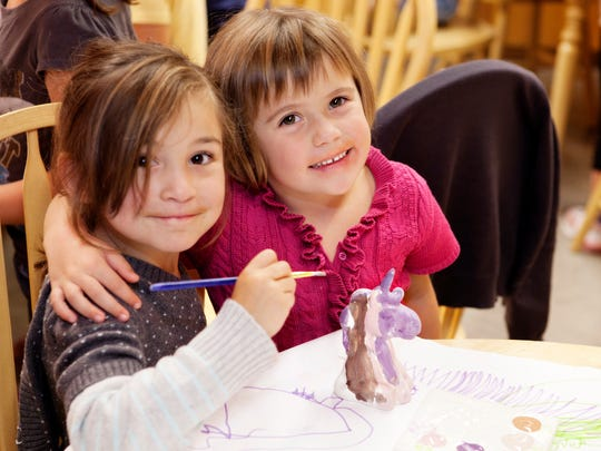 Channel your inner artist at Color Me Mine.