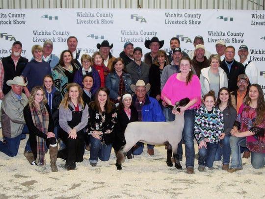 Wichita County Junior Livestock Show Special Champion,