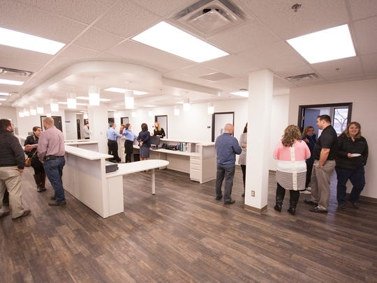 An interior view of the new Denso Family Health Center