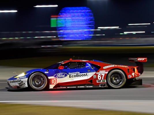 Motorsports: Rolex 24 - Day 2