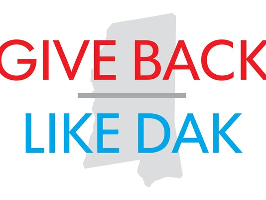 Give Back Like Dak