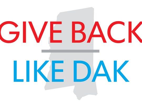 Want to meet Dak Prescott? Then show us how you... Give Back Like Dak.