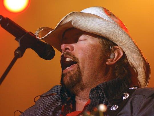 Toby Keith headlined Country Thunder Arizona in 2013.