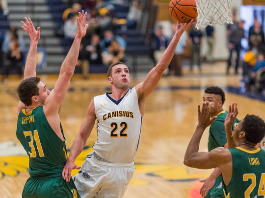 In 122 career games for Canisius, Phil Valenti has scored in double figures 60 times.