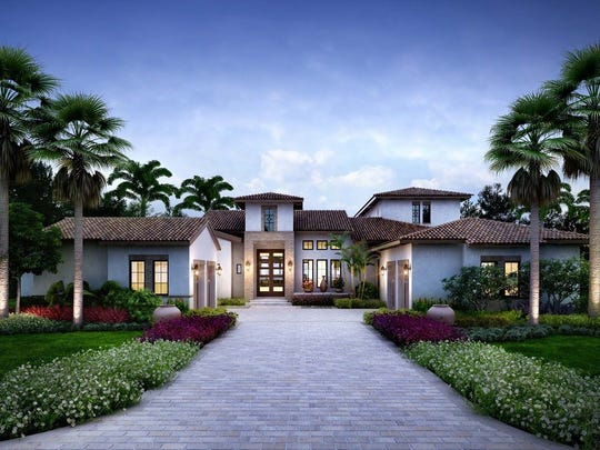 London Bay Homes' four-bedroom, five-bath Catalina offers 5,807 square feet under air.