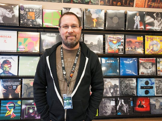 Chris Haner, own of Green Light Music in Kalamazoo, has been collecting records since he was 8 years old.