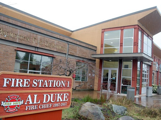 The fire station on Park Avenue in Bremerton is named