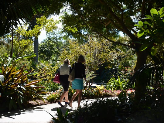 Naples Botanical Garden on Bayshore Drive in East Naples shows off the incredible diversity of our natural environment to thousands each year.
