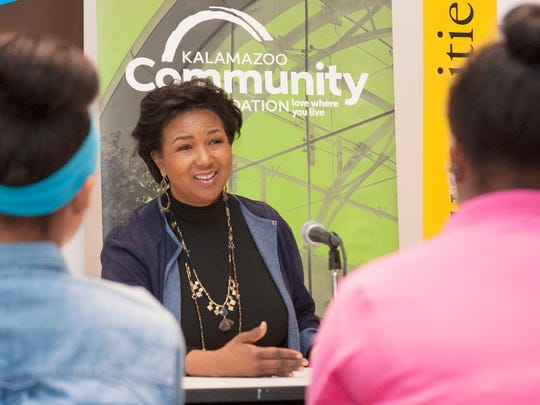 Astronaut Mae Jemison answered a student's question about the struggles she dealt with in being an the first African American woman to become an astronaut at Western Michigan University Thursday.