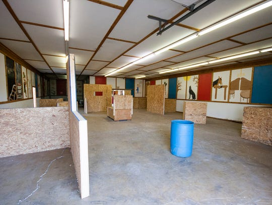 Riverview Recreation moved its indoor mini-golf course,