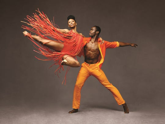 The Alvin Ailey American Dance Theater will perform Friday-Saturday at the Detroit Opera House.