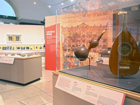"""Cultures in the Crossfire: Stories from Syria and Iraq"" exhibits artifacts alongside responsive art and information about the region."