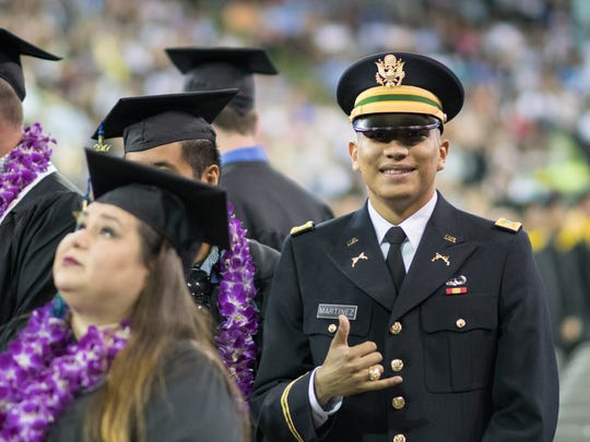Alan Martinez was one of more than 1,100 graduates