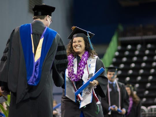 Alissa Ramirez was one of more than 1,100 graduates