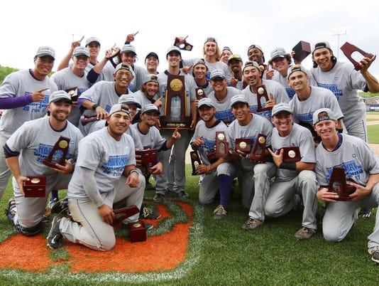 CLU baseball champions