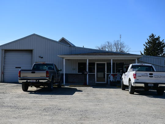 The exterior of the Zahm Trailer Sales Office and Repair Shop.