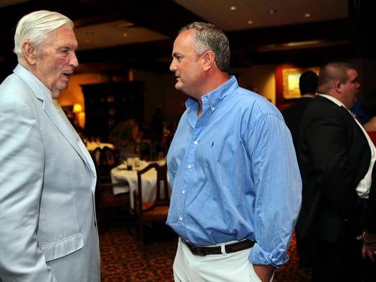 Dr. Guthrie Jarrell speaks with former Louisiana Tech