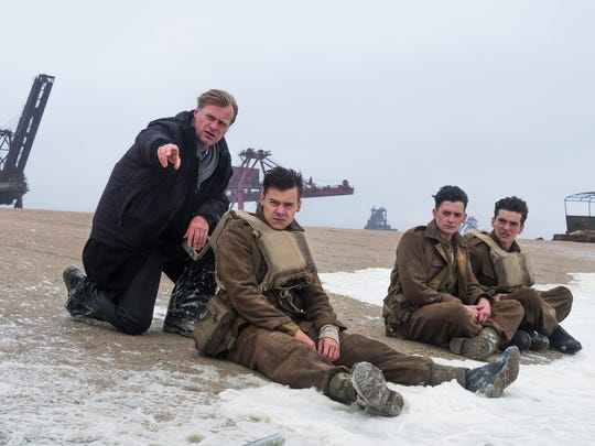 Christopher Nolan talks to his young 'Dunkirk' soldiers