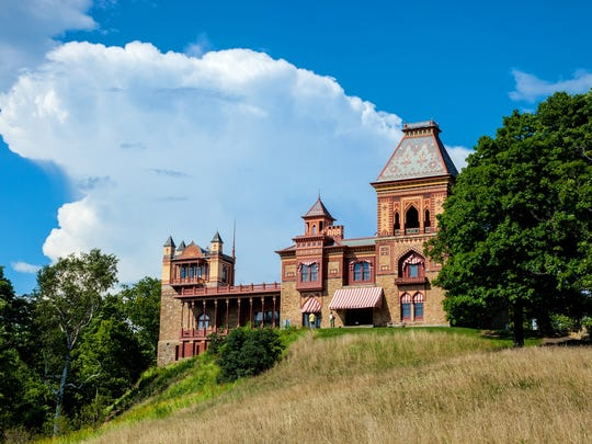 Olana is the home and studio of American painter Frederic Church.