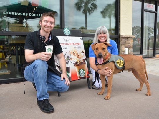 Will Guizerix, a barista at the Starbucks in Palm City,