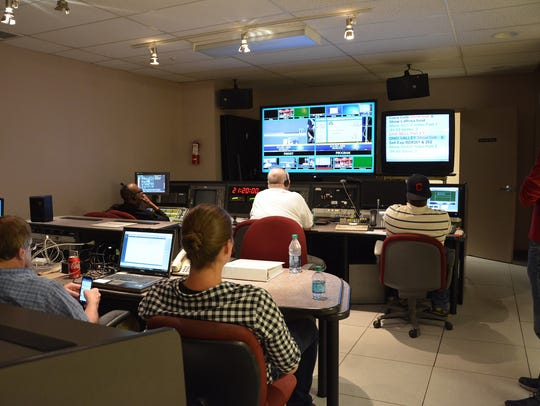 The master control center at CET in the Crosley Telecommunications