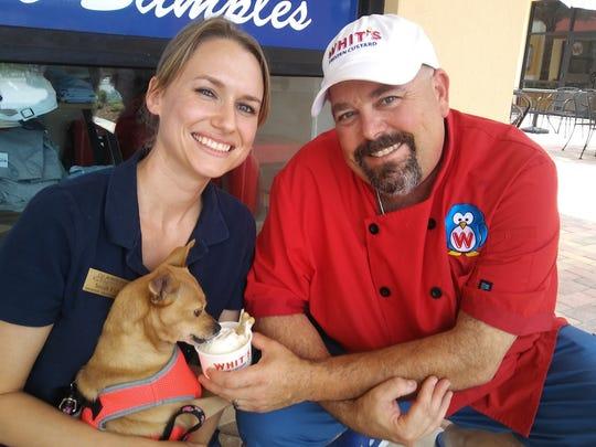 Sarah Fisher, the Humane Society's volunteer program