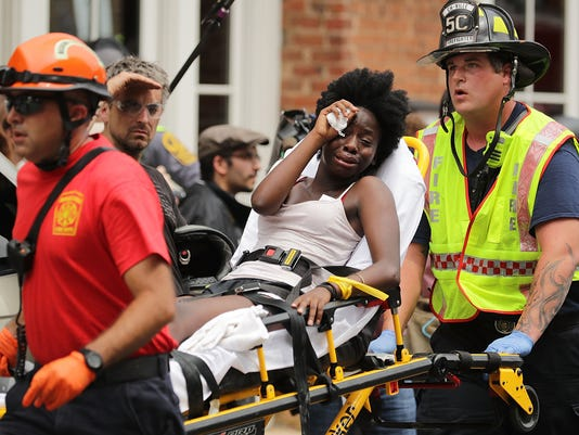 """BESTPIX Violent Clashes Erupt at """"Unite The Right"""" Rally In Charlottesville"""