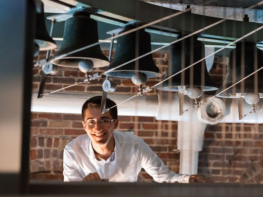 Joey Brink, one of the world's leading young carillonneurs performs the dedication concert for Salisbury University's new Brown and Church Carillon 7:30 p.m. Wednesday, Sept.6, 2017