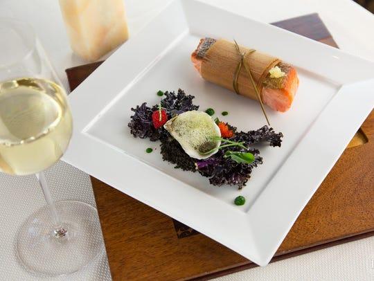 Ocean Trout at Kai Restaurant at Sheraton Grand at