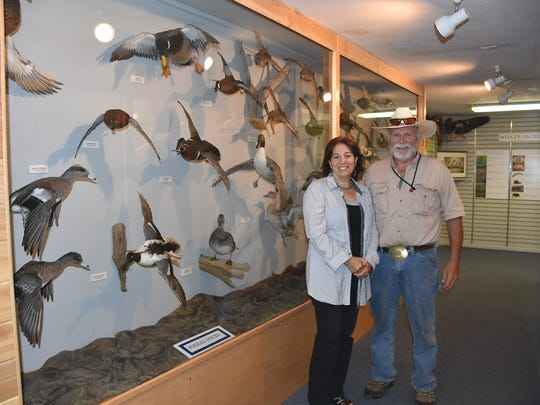 Craig and Nicole Swenson, of Columbia County, are the directors of the Flyways Waterfowl Experience on Highway 136 in Baraboo.
