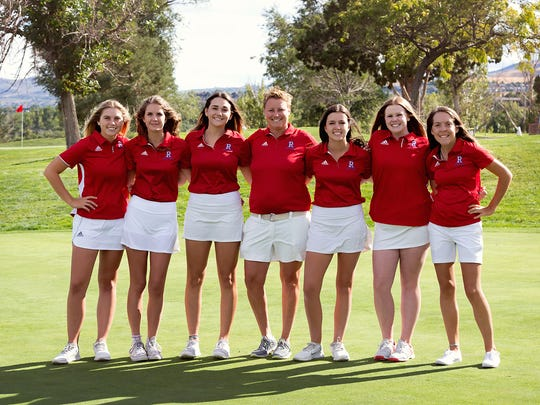 The Reno High girls golf team
