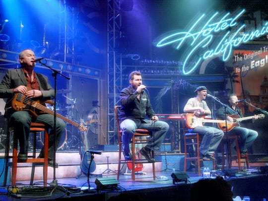 Hotel California will pay tribute to the music of The Eagles during a sold-out performance at the Freeman Stage at Bayside in Selbyville on Friday, Sept. 7.