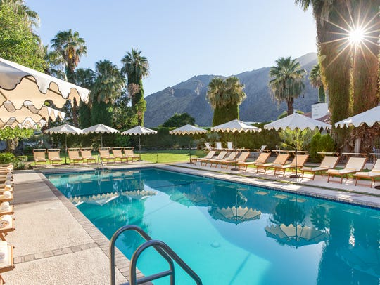 The Ingleside Inn and Melvyn's Restaurant in Palm Springs