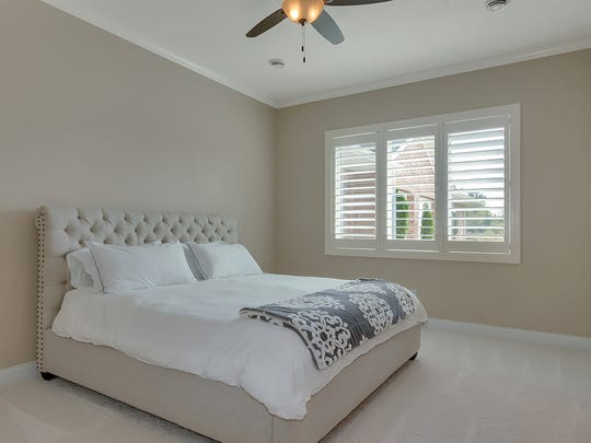 One of the bedrooms at 21096 Westbrook Drive, Cold Spring.